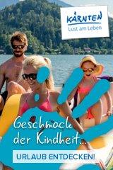 Sommererlebnisse am See & Berg - Klopeiner See